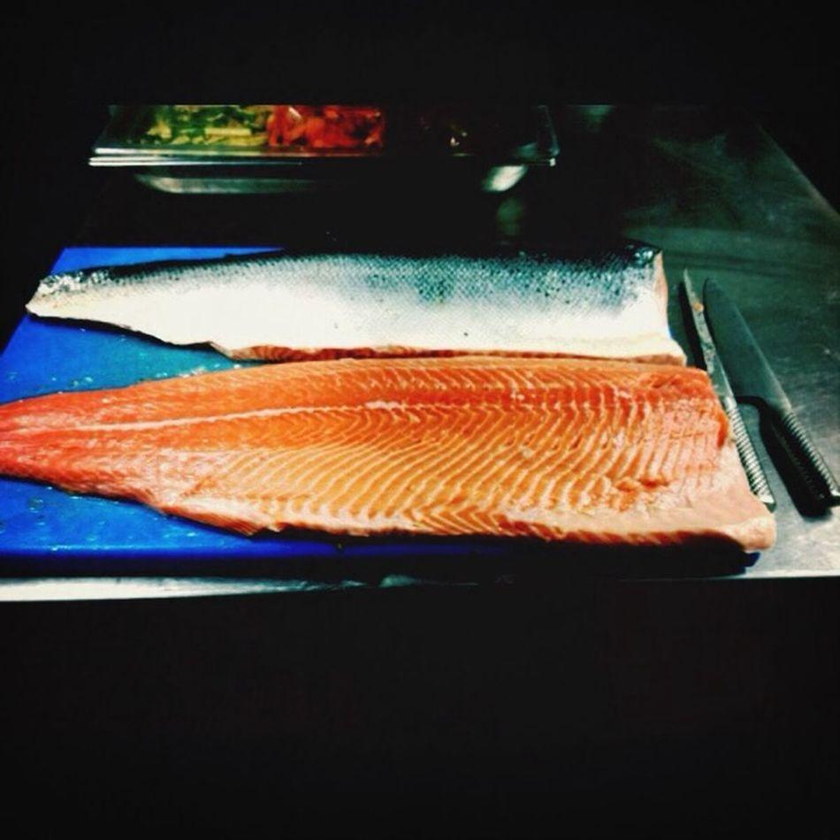 7kg of salmon ? Food Taking Photos Gastronomy First Eyeem Photo