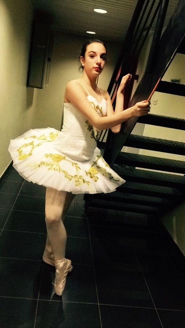 Ballet Dancer Ballett Performance Tutu Pointshoes Stears