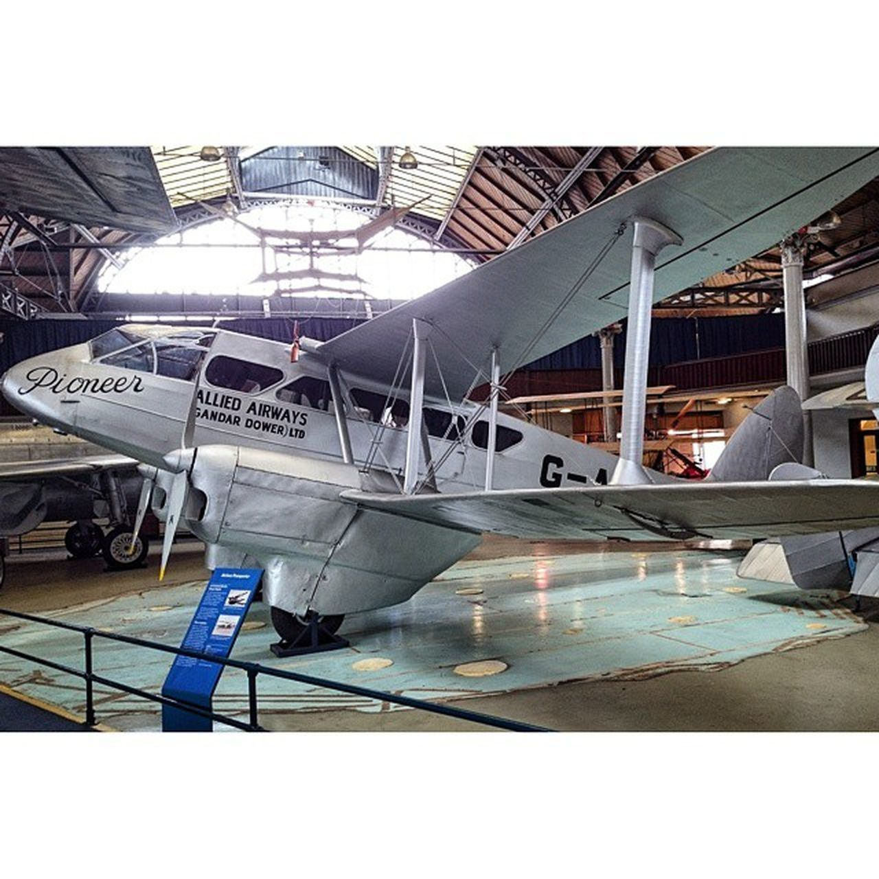 To the pioneers 👌 Dehavilland Dh86 Pioneers Manchester royal musuem