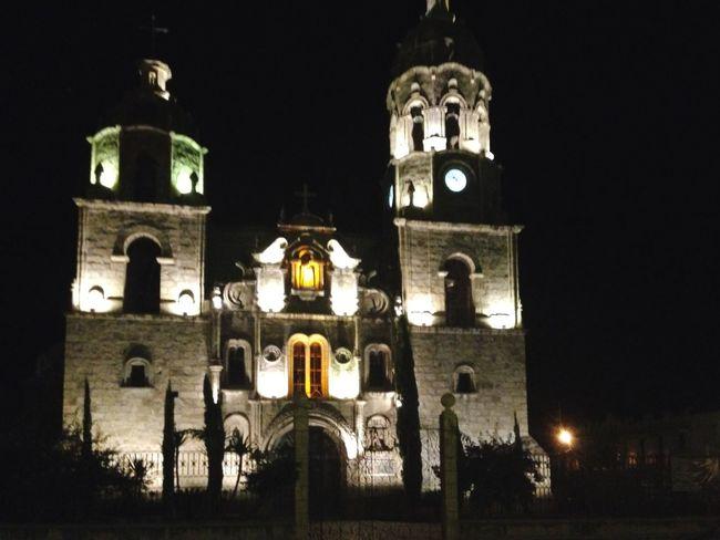 Church Hanging Out Night Lights Outside Hola! Streetshot Quickshot