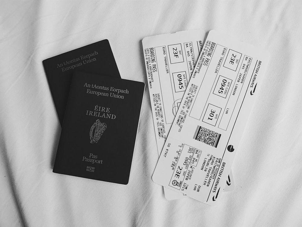 Showcase March Travel Passport Plane Ticket Travelling Adventure Simplicity Travel Photography London VSCO Vscocam