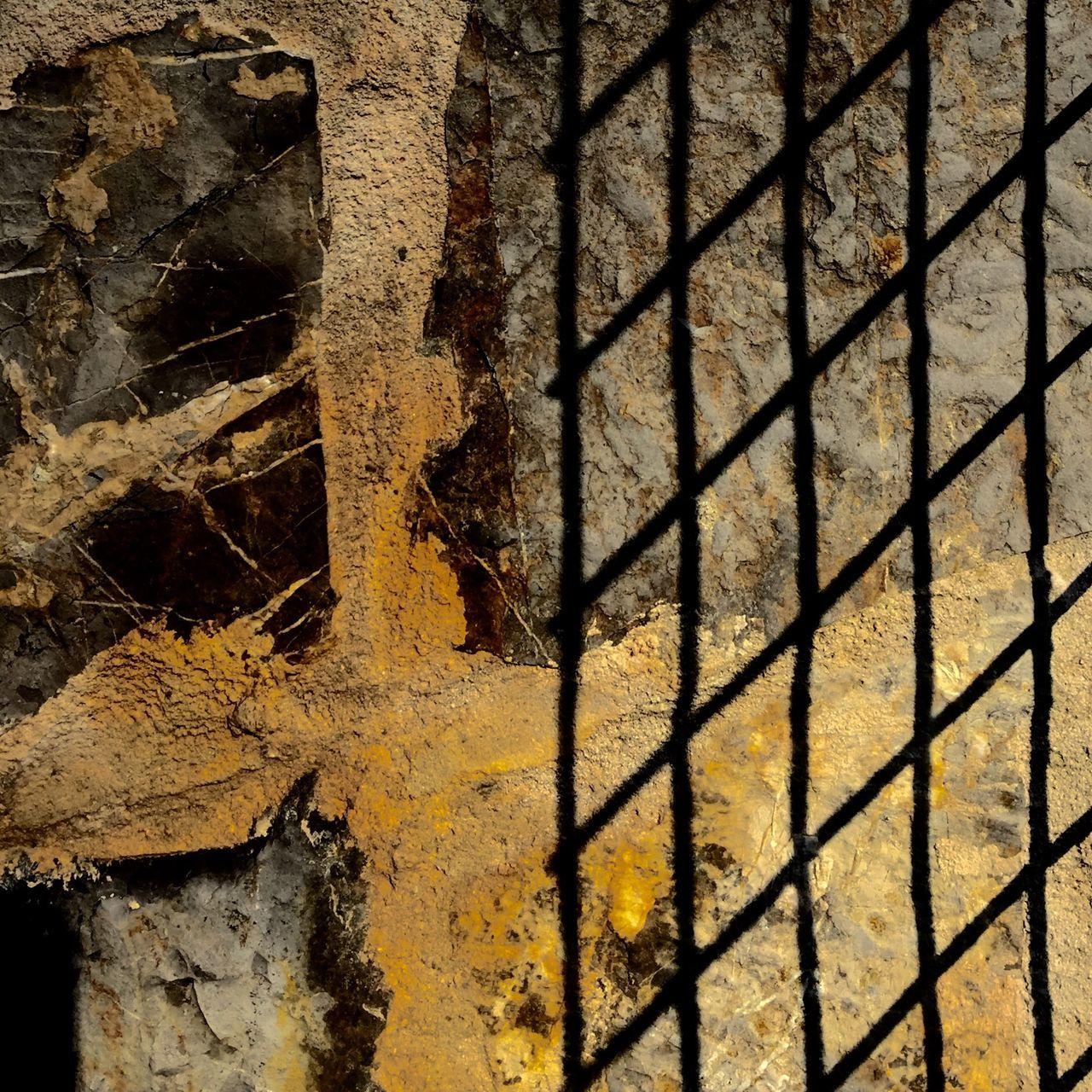 Wall Murals Yellow Prison Crossroads Cross