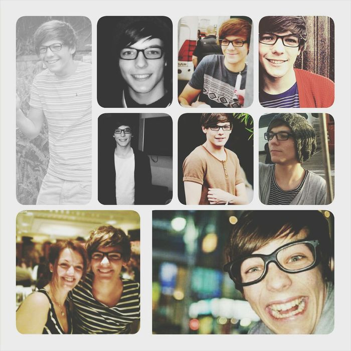 Louis Tomlinson wearing glasses ♥♥♥ Louistomlinson 1D