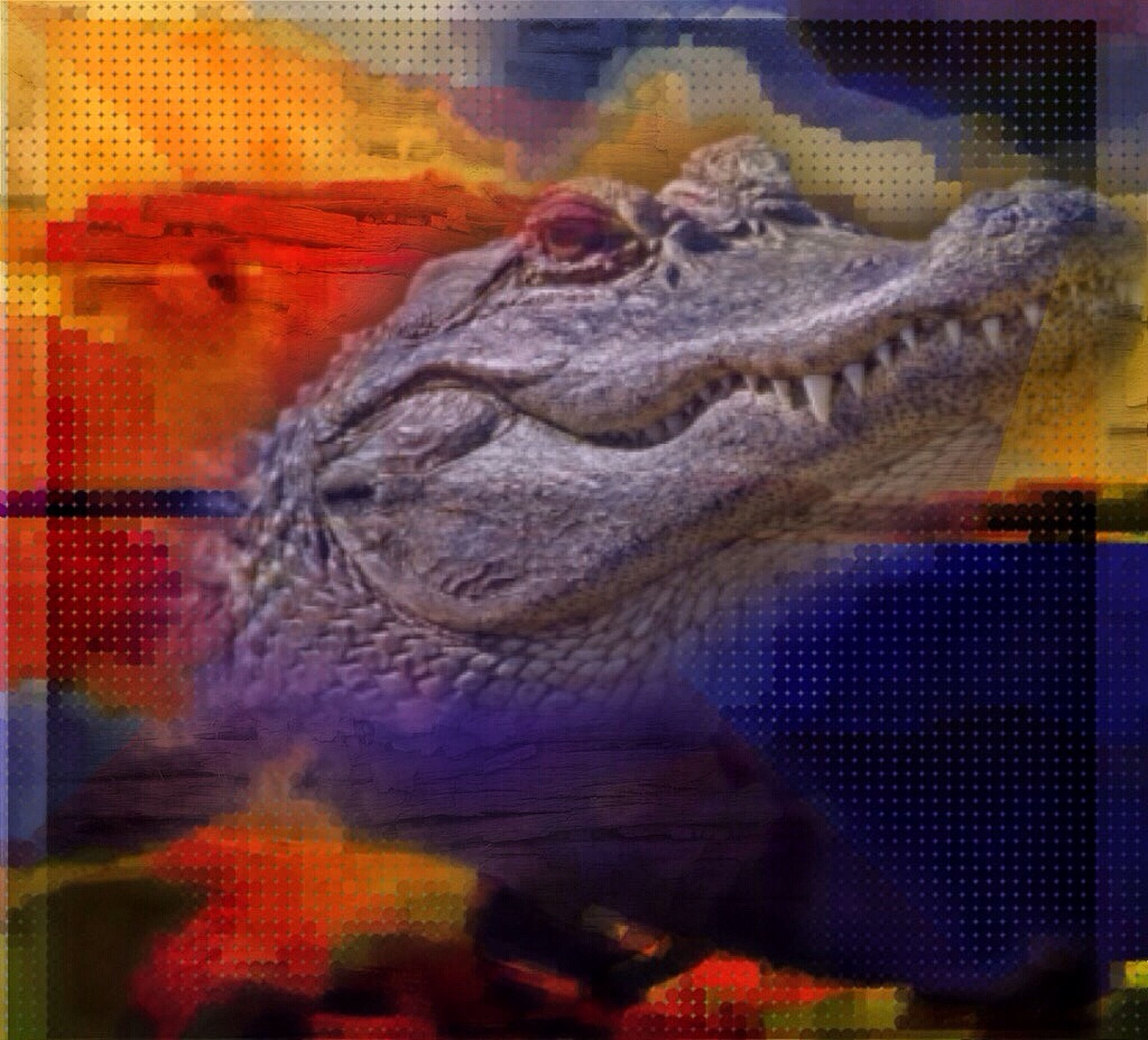 animal themes, one animal, animals in captivity, focus on foreground, cage, close-up, animals in the wild, wildlife, indoors, multi colored, no people, bird, selective focus, day, art and craft, zoo, pattern, reptile, animal representation