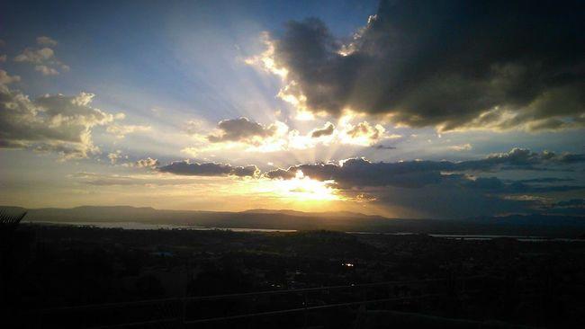 Sunset Sunbeam Clouds And Sky Clouds View Sky San Miguel De Allende Mexico Casa Cordelli