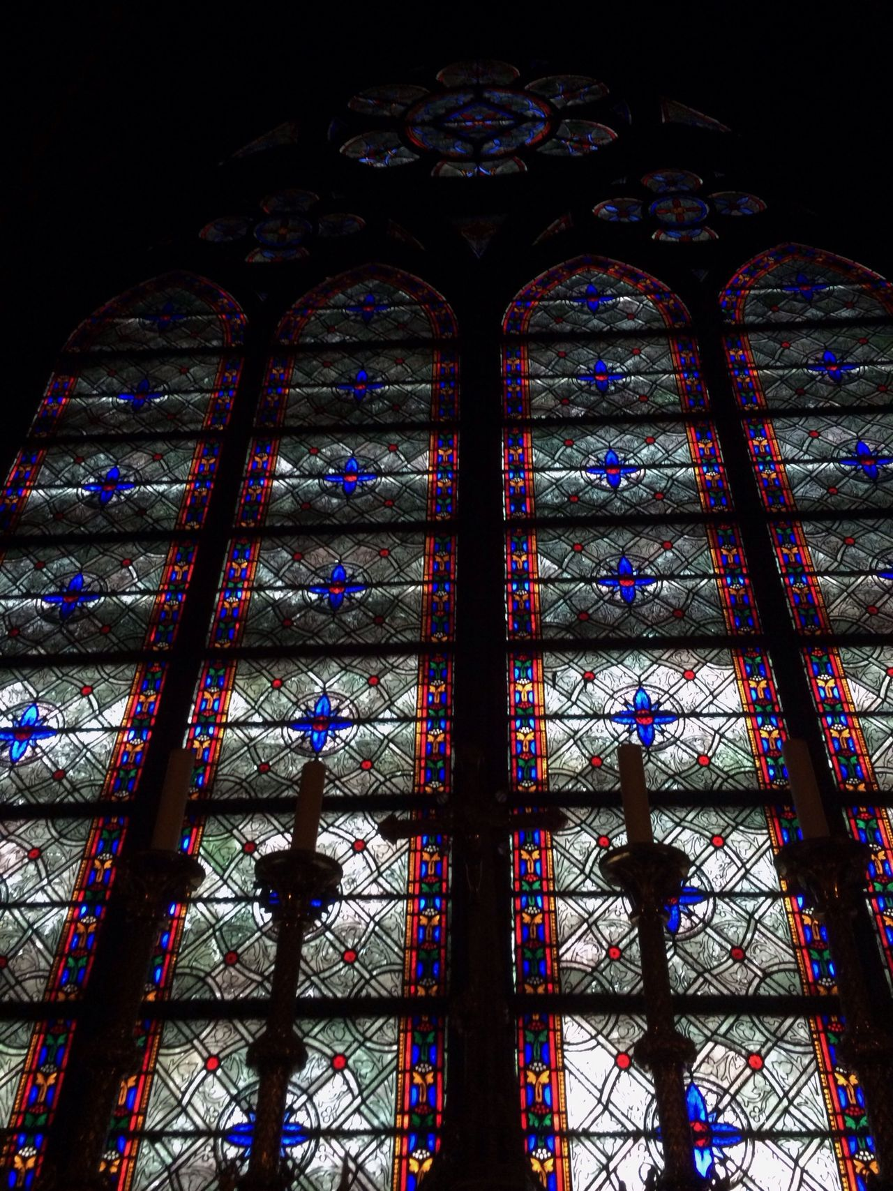 Beautiful stained glass in the cathedral. Cathedral Paris Nofilter EyeEm Best Shots - Architecture