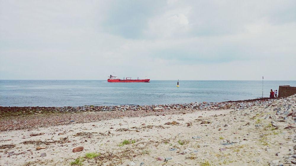 Beach Kugelbake Walking Around People Watching cuxhaven