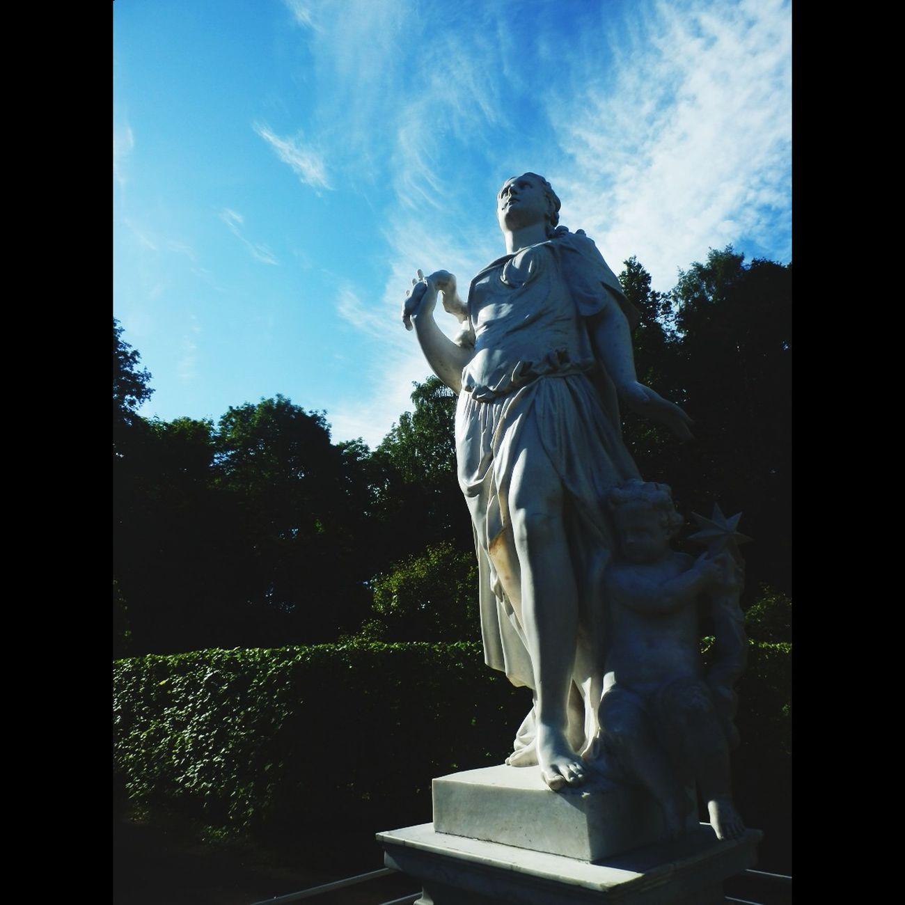 статуя Петергоф скульптура исскуство красоты