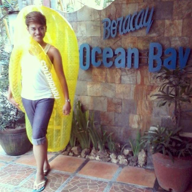 Representing: MsHavaianas BoracayOceanBayResortAndCafé ... Goodevening  Havaianas LifeSaverSlipper BigSlipper