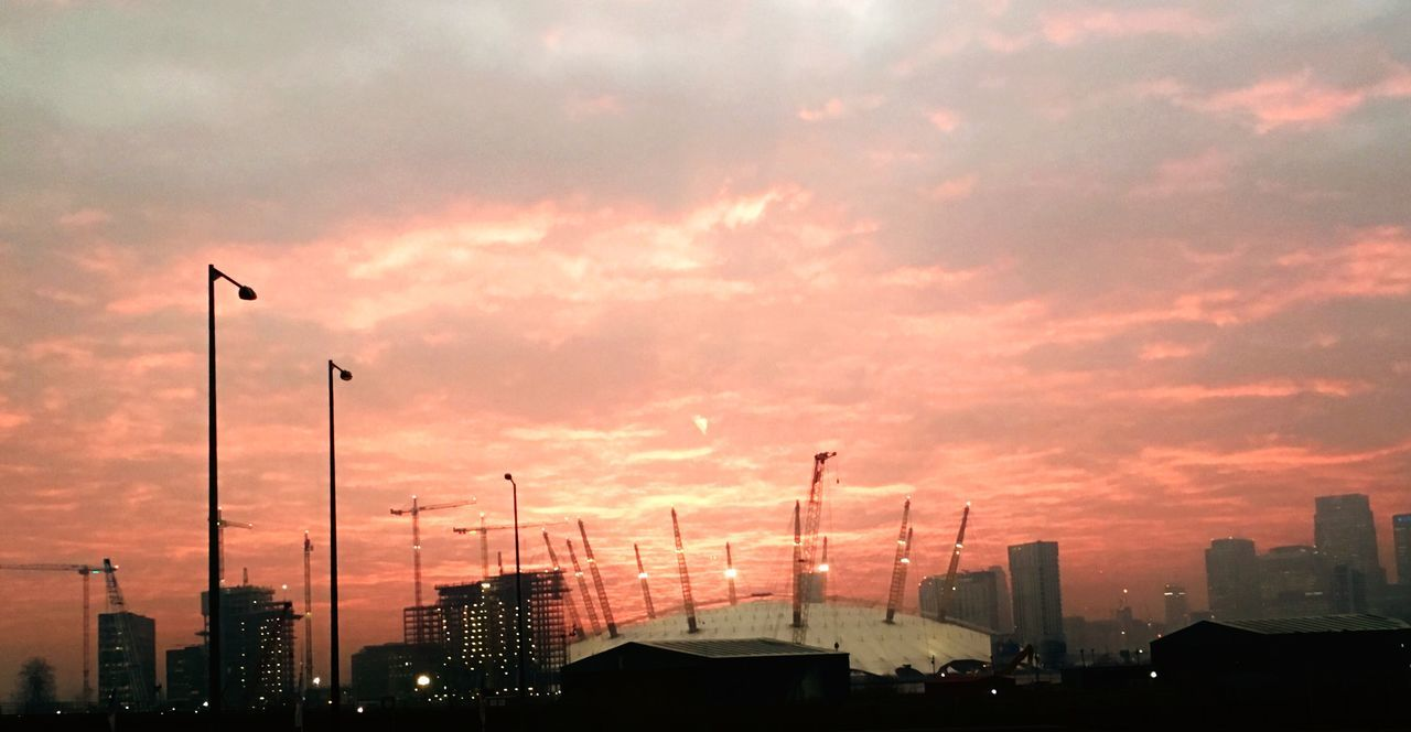 Sunset No People Sky City Outdoors Building Exterior London O2 Arena IPhoneography IPhone 6s Plus