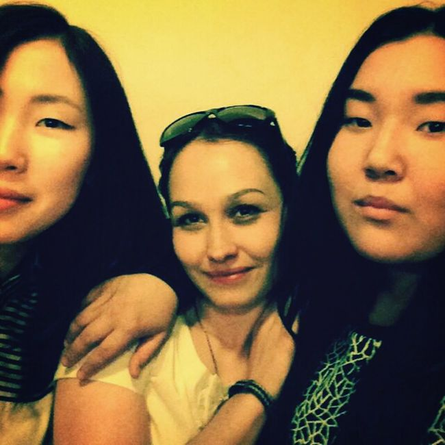 with my girls. Like (: