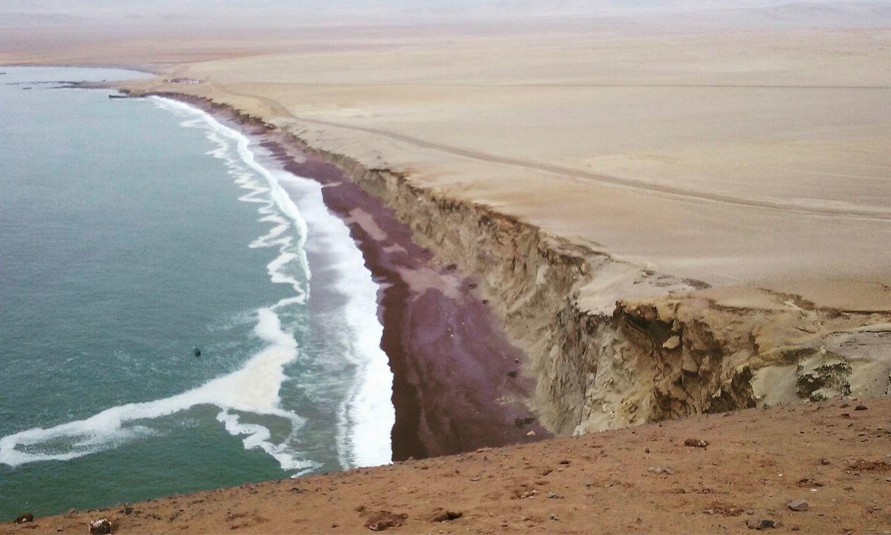 Beauty In Nature Sea Tranquility Beach Moments Paz Belleza Suramerica Paracas National Park Oceano Photography