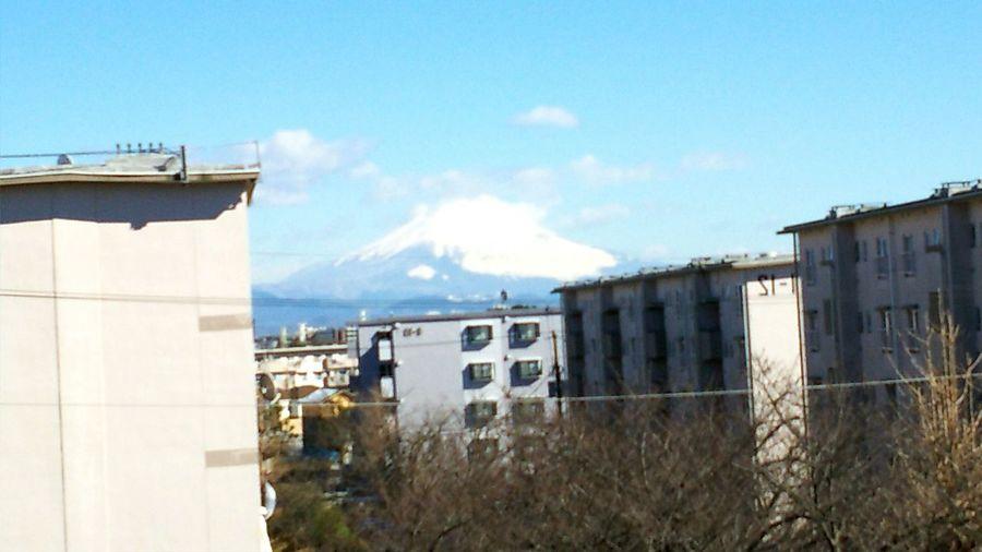 富士山 穏やかな休日