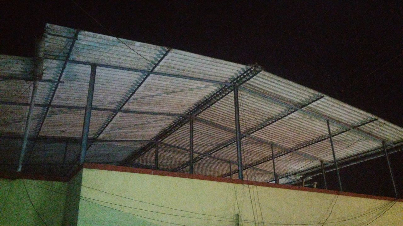 Sport Netting Low Angle View No People Close-up Sky Outdoors Day Shed