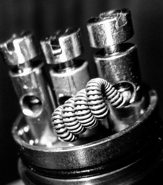 """""""Naked"""" monochrome Vape EyeEm Best Edits Macro_collection Bw_collection Hdr_Collection VapeLife Coilporn Vapingcommunity Vaping Coil"""