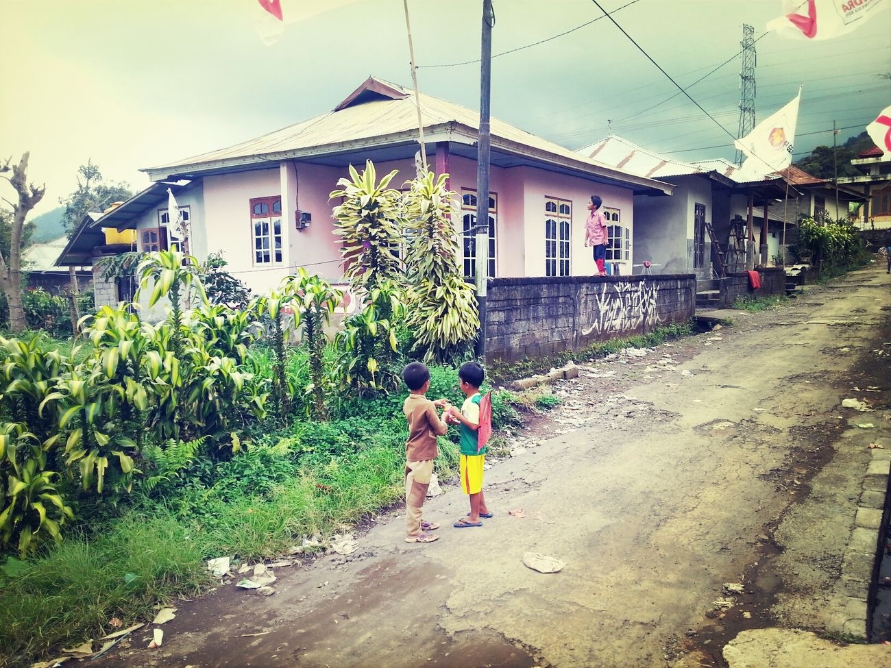 A village in Bali. Eternally grateful for a beautiful experience here with happy kids & lovely homecooked meal. Yet another Travel surprise, thanks to our friend. I Love BALI