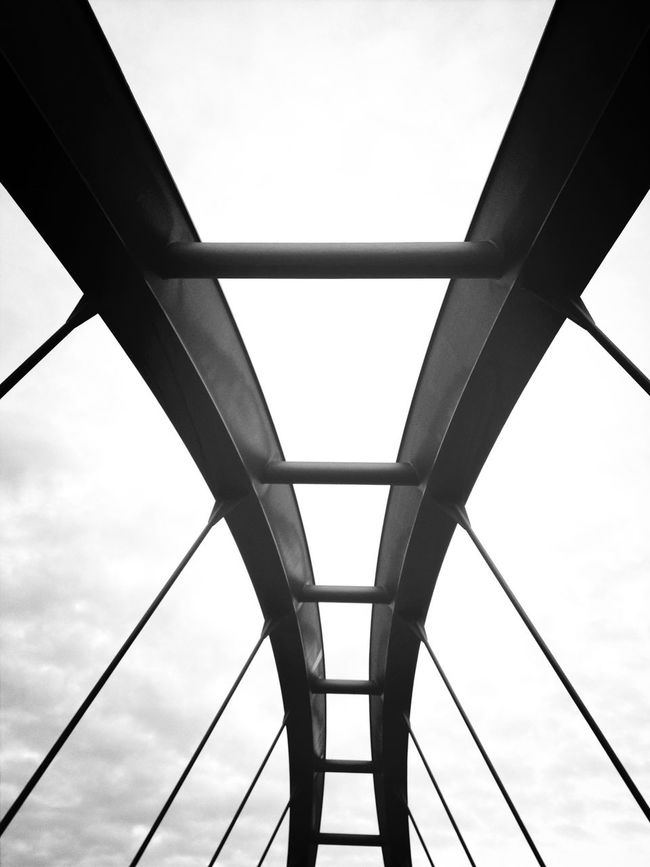 A Lookingup Bridge pic for the Bnw_collection with EyeEmBestEdits - Berlin