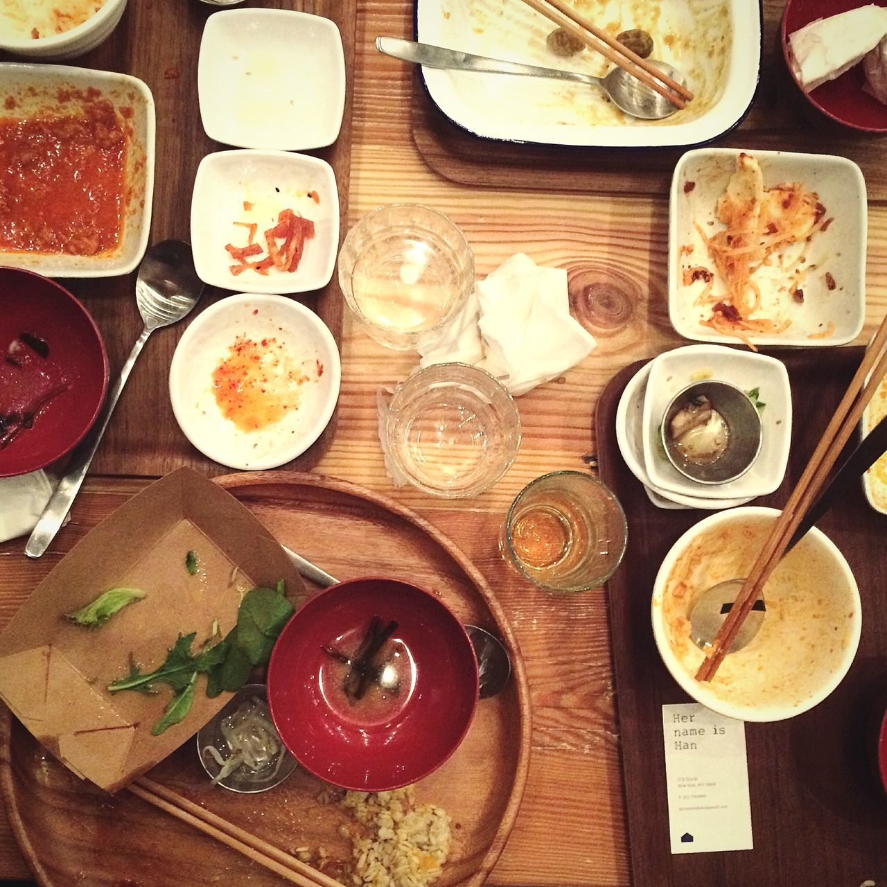 Lunchy times Korean Food Lunch Time!