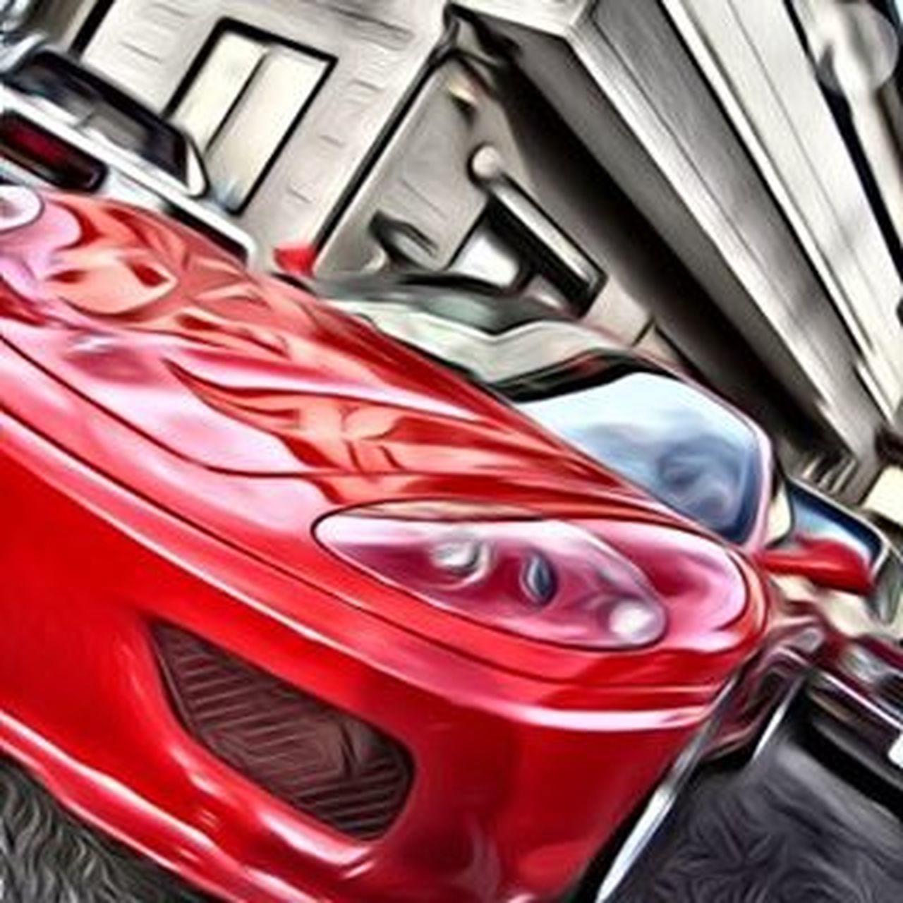 おフェラーリはスーパーフォトになってもイケてまんね(^^) Ferrari Ferrari360 Modena Italia Cabalinorampante Scuderia Hideoutinc Hideoutworks Superphoto フェラーリ モデナ