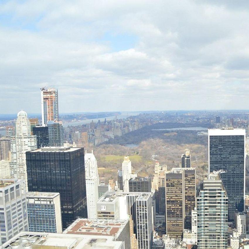 Newyork Manhattan Topoftherock Rockefeller CentralPark Lovely Honeymoon Iphonesia