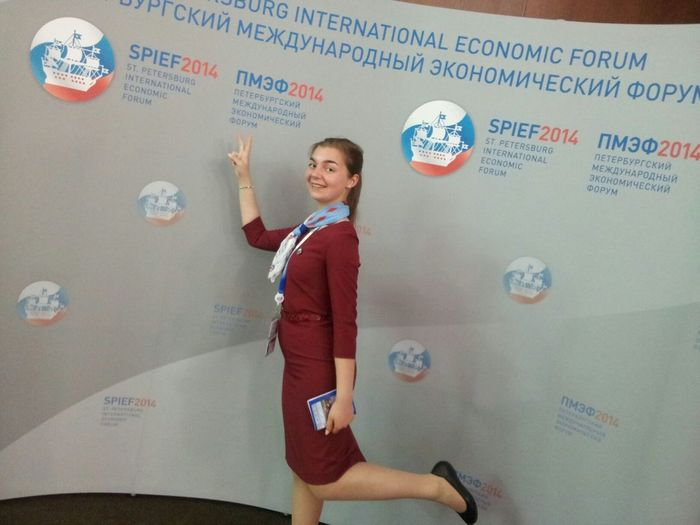 me on St.Petersburg International Economic Forum SPIEF