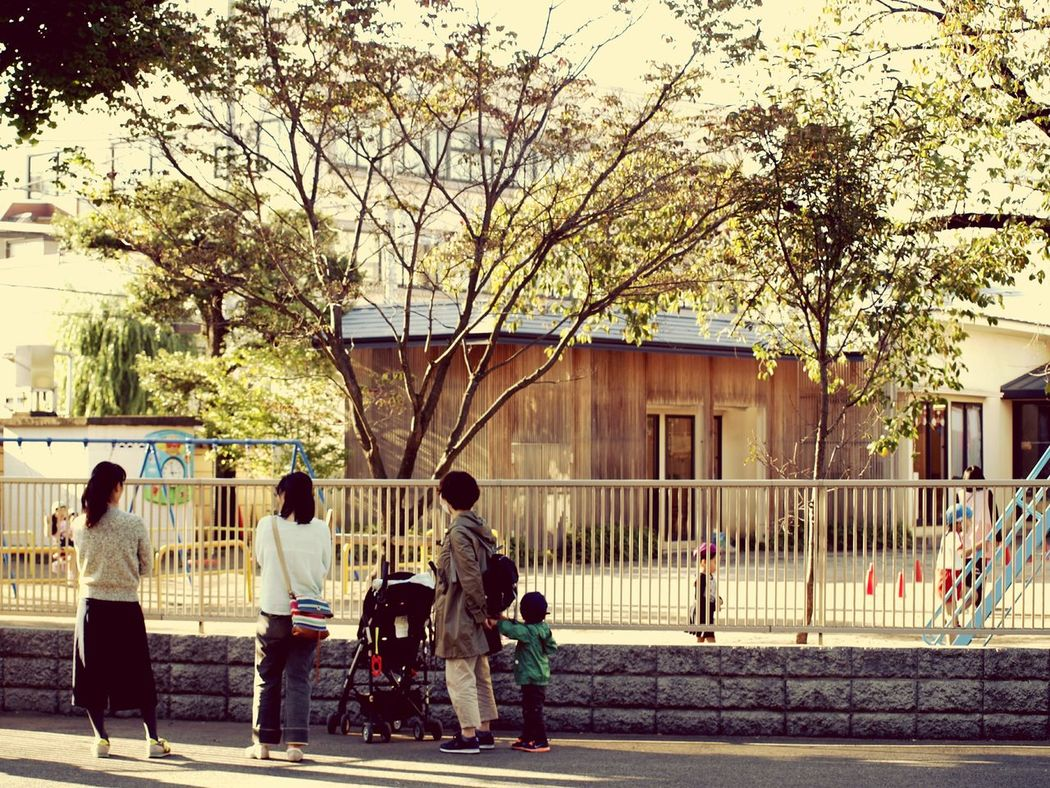 Kindergarten Tokyo,Japan Mother Afternoon Snapshot Kanei Temple Children
