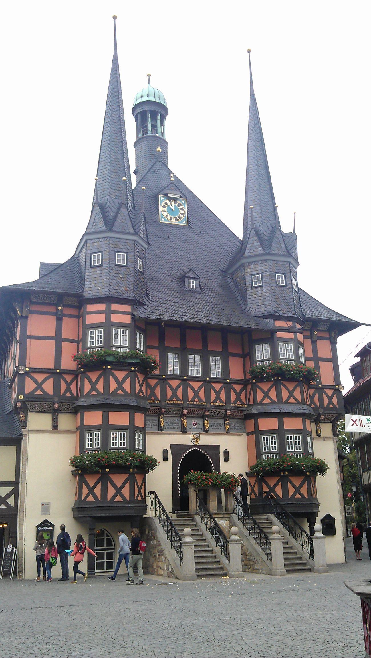 Harz Historical Building Harzreise Enjoying Life