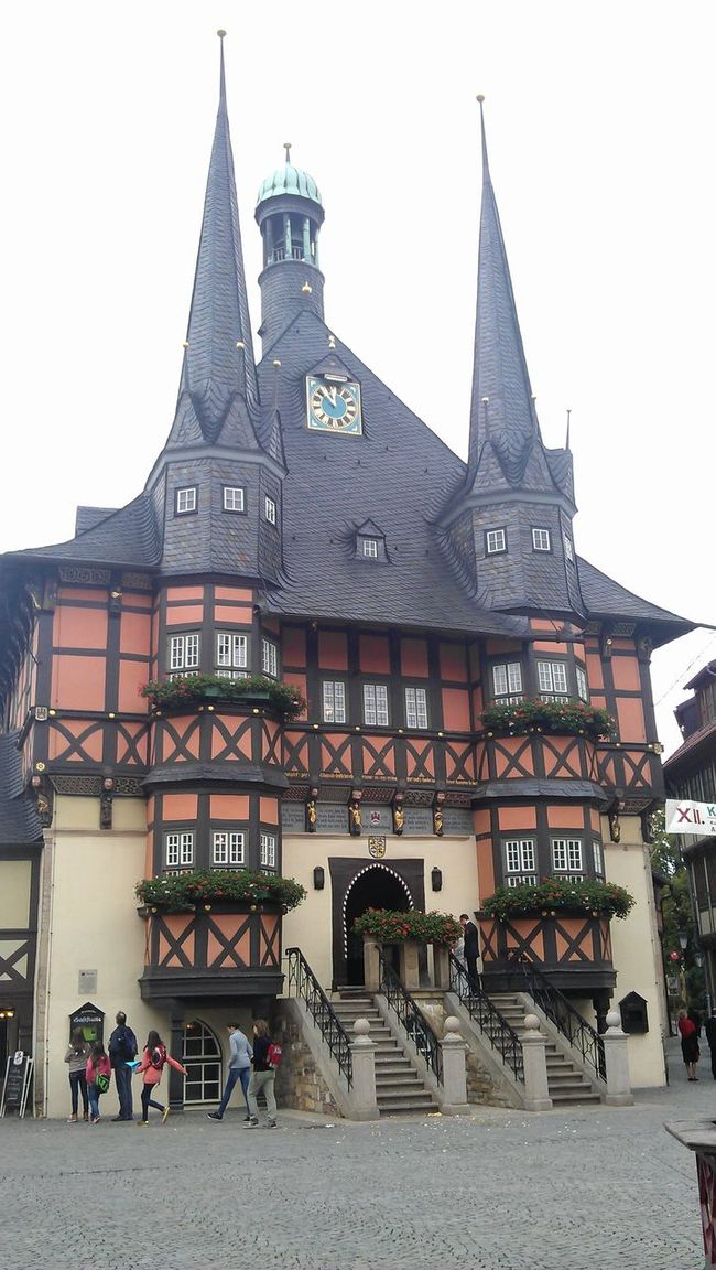 Harz Historical Building Harzreise Enjoying Life
