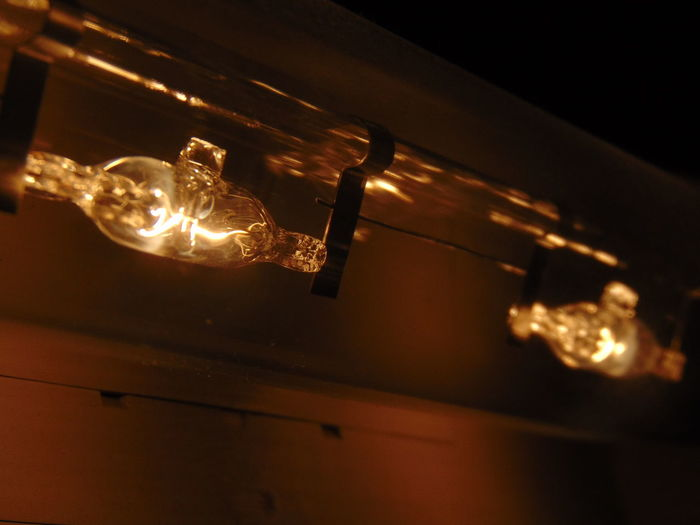 Les vielles ampoules avaient du charisme quand même Lighting Equipment Electricity  Illuminated Light Bulb No People Night Hanging Filament Low Angle View Indoors  Close-up Representing Technology