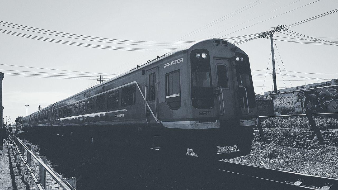 Train to busan Transportation No People Day Outdoors Lopburi Location Light And Shadow Bangkok Thailand Sun Monkey Railway