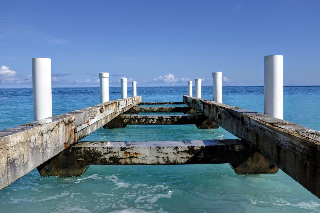 Beauty In Nature Idyllic Pier Scenics Sea Tranquil Scene Water