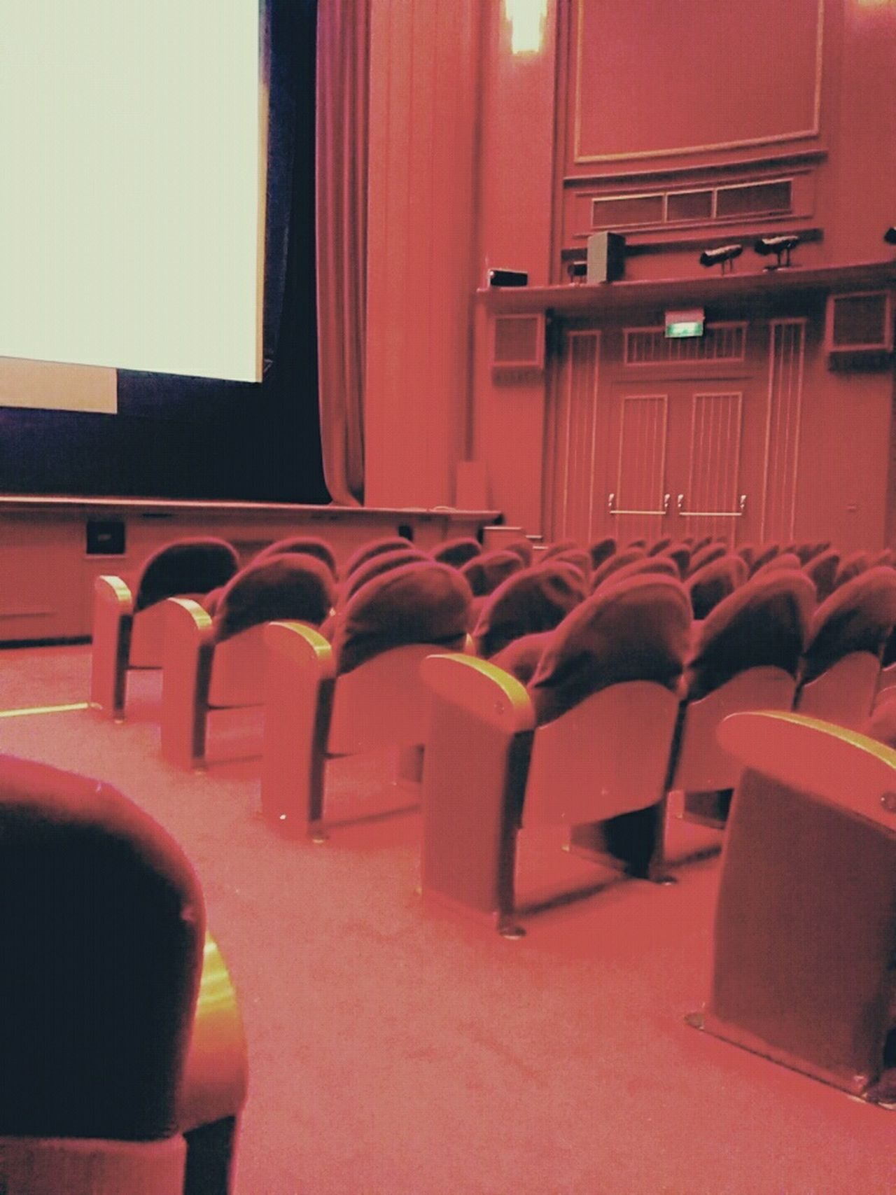 =Constant attendance= Nosoul See What I See Theater Cinematic Velvet Room Empty Places