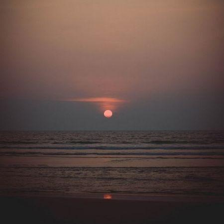 Индия гоа морько Ашвем закат