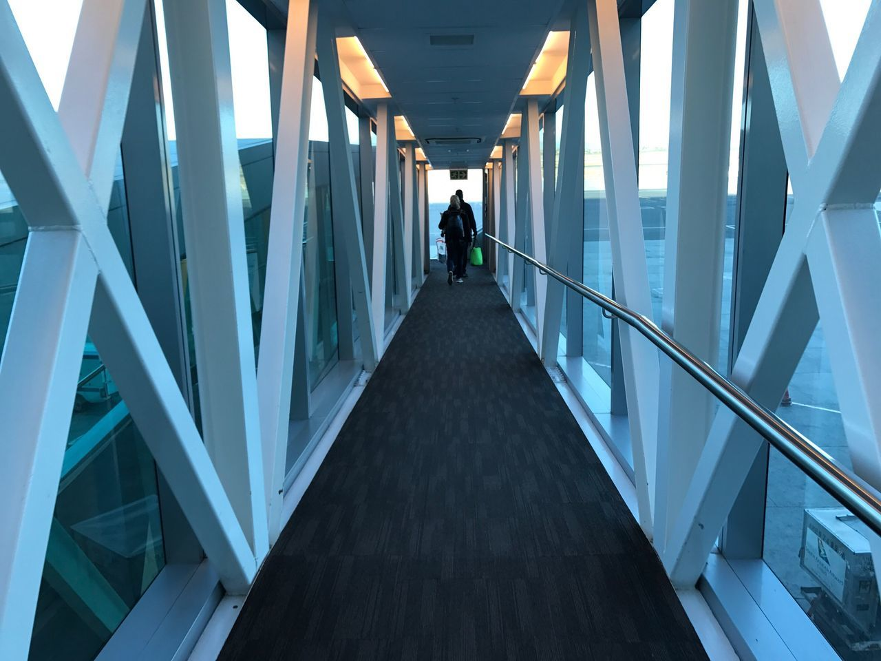 The Way Forward Built Structure Rear View Men One Person Full Length Modern People Adults Only Outdoors Day One Man Only Architecture Only Men Adult Passenger Boarding Bridge