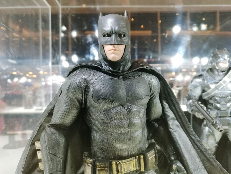 Looking At Camera Front View Only Men Portrait Adult Sport People One Man Only Indoors  One Person Illuminated Muscular Build Adults Only Toy MOVIE Cenema Batman Black Superhero