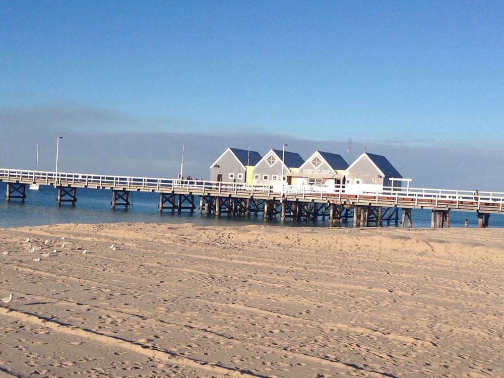Jetty daylight Busseltonjetty Jetty Sea Sand