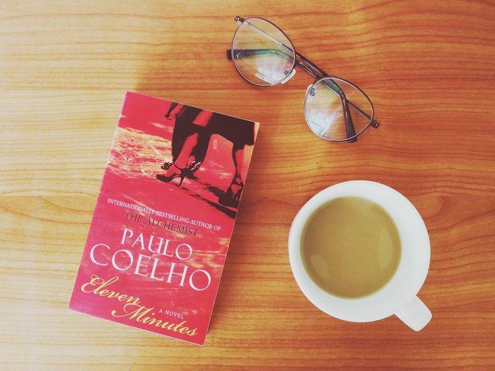 Morning read... ☕🤓📑 first eyeem photo