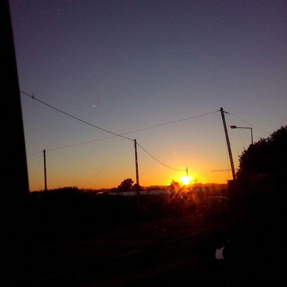 Morning from 2 days ago. Sunrise Albarraque Portugal