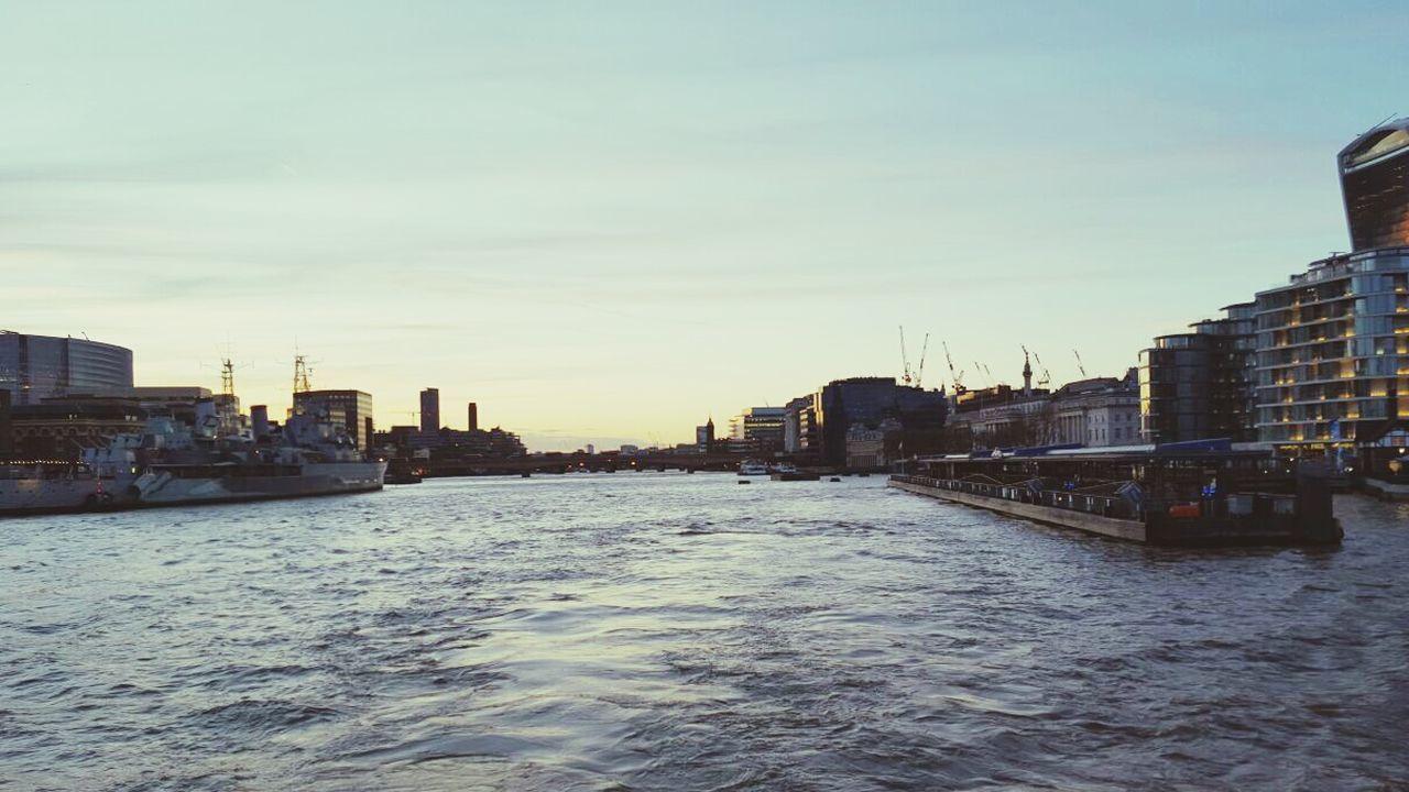 River River Thames On The Thames London