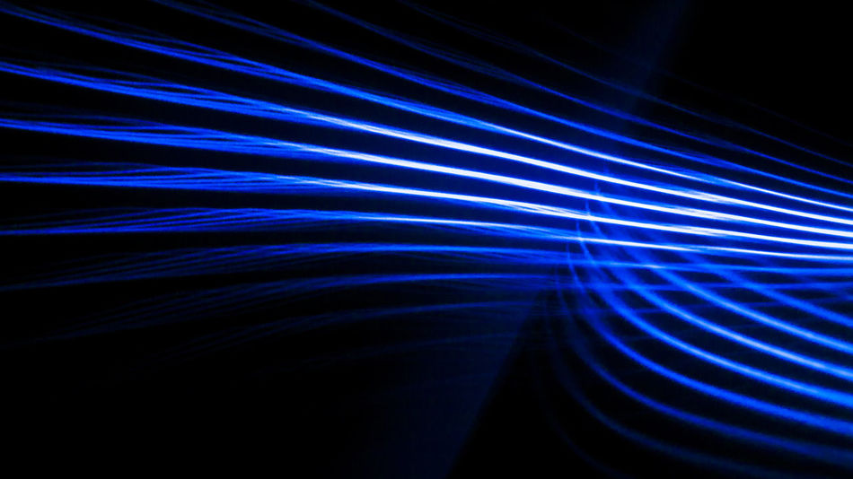 solo luz, curvar la luz ya es posible. Abstract Backgrounds Blue Illuminated Laser LINE Napatu Night No People Pattern Technology Textured