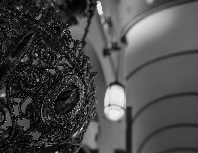 Blackandwhite Photography Catholic Church Close-up Day Decor Decorative Detail Focus On Foreground Fujifilm_xseries Indoors  No People Ornate Photographyisthemuse Place Of Worship Quiet Places Religious Architecture Religious Art Sacred Places Sanctuary  Spirituality