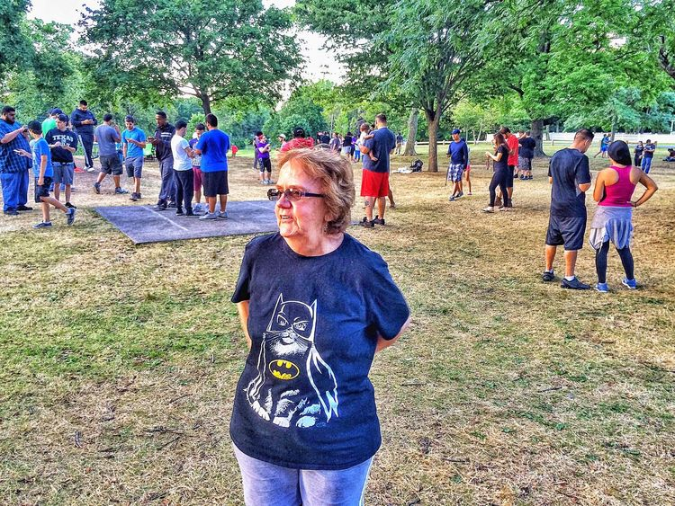 My mother-in-law looking perplexed at all the people playing Pokémon Go..... People Together Strangers Mother In Law Stratford Walking Around Walkabout Connecticut New England  USA Pokemon Go Pokémon PokemonGo Pokemon Hunting Pokemon Go Outside Outdoors Summer Summertime July Academy Hill Woman Female