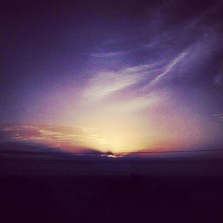 Sunset from miles above. Sunset Photographer Sun ADayToRemember Picoftheday Mysore India DreamDay Dreamcametrue Hill