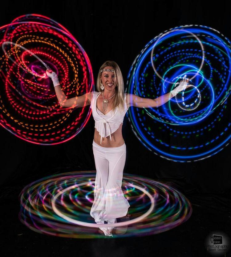 People Performer  Led Lights  Hoola Hoop