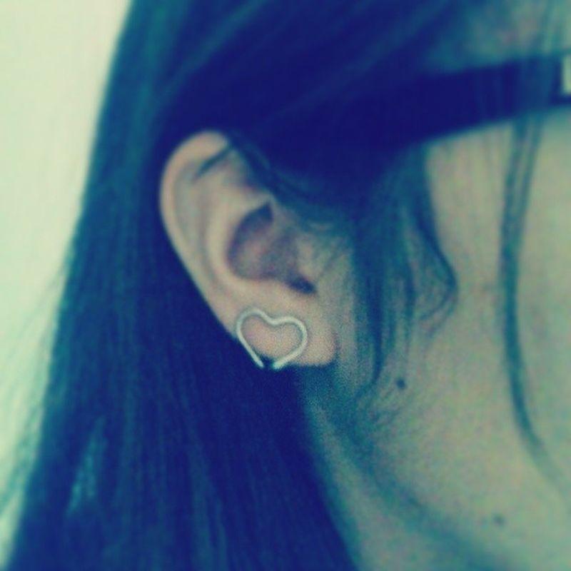 Aro Heart Corazón Ear habuabau beautiful c: