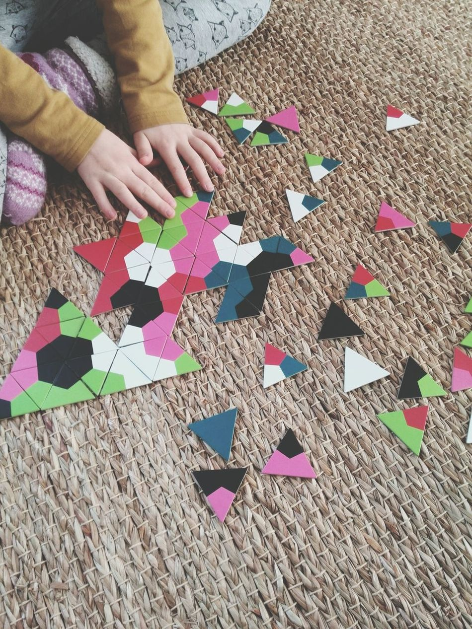 Beautiful stock photos of puzzle, Child, Childhood, Cropped, High Angle View