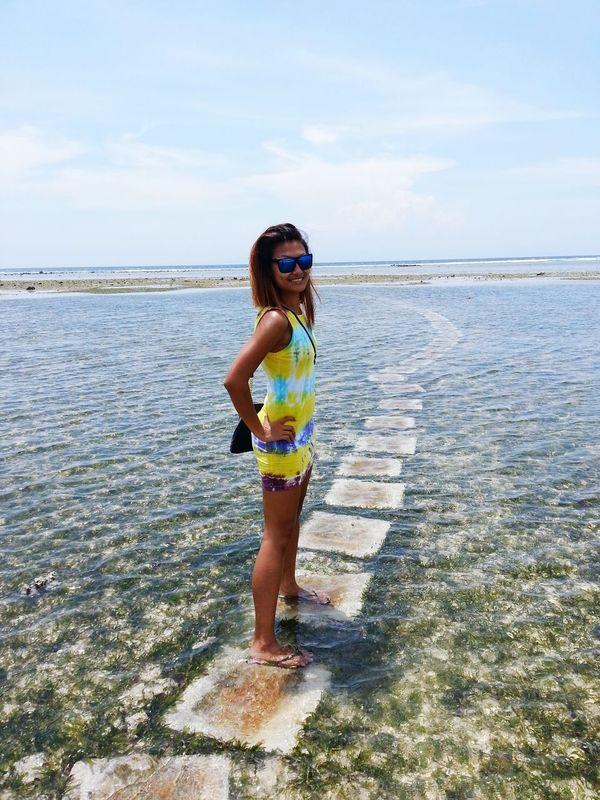 throwback @ Gili Trawangan Ombak Sunset Nature Beach Lombok Rockchic Starla Travelista Travel Blue Water Blue Sky Enjoying Life Joey Meets Starla