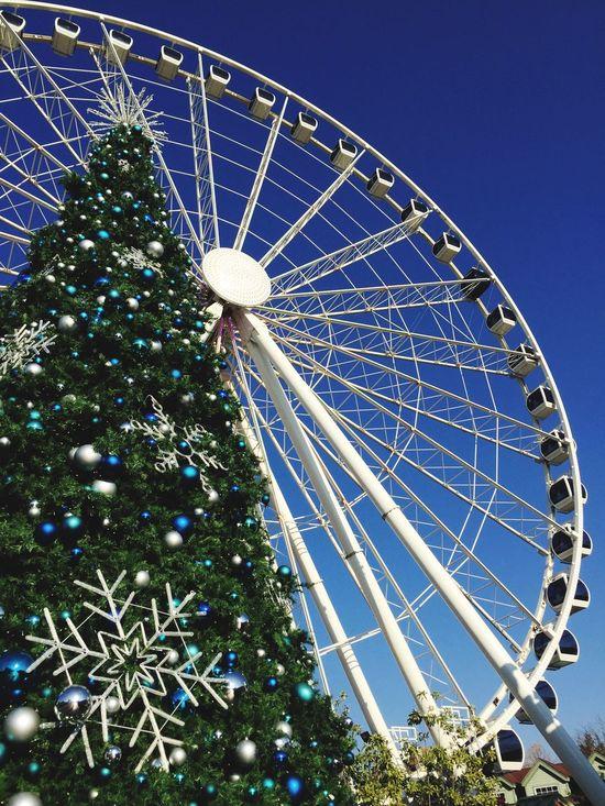 Ferris Wheel Christmas Tree Tennessee