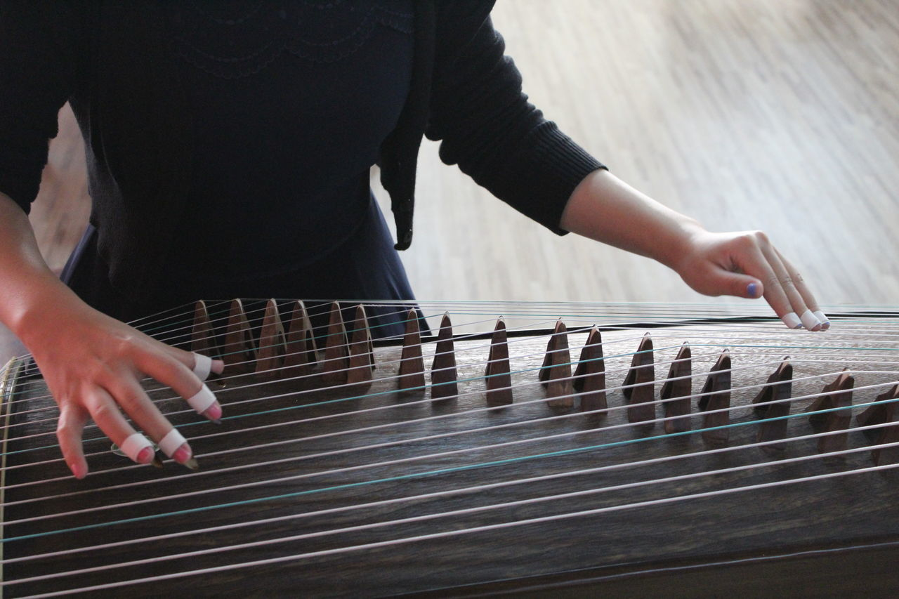 Chinese Art Chinese Culture Chinese Music Instruments Guzheng Guzheng Music Musical Instrument Playing Music Wood - Material Women Who Inspire You