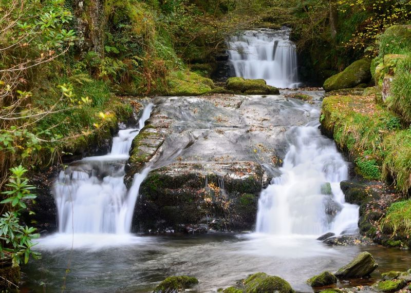 Beautiful Beauty In Nature Check This Out Day EyeEm Best Shots Flowing Water Forest Idyllic Long Exposure Nature Nature Photography Nature_collection Naturelovers No People Non-urban Scene Outdoors Power In Nature River Scenics Taking Photos Tranquil Scene Tranquility Water Waterfall Watersmeet